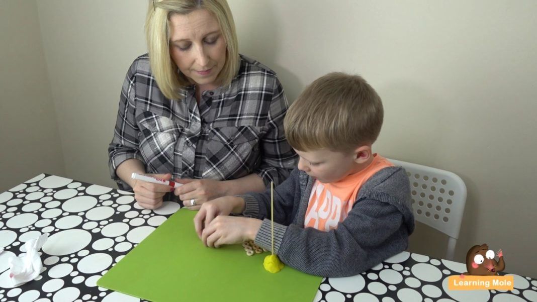 Counting and Mental Maths for Kids with Play Doh
