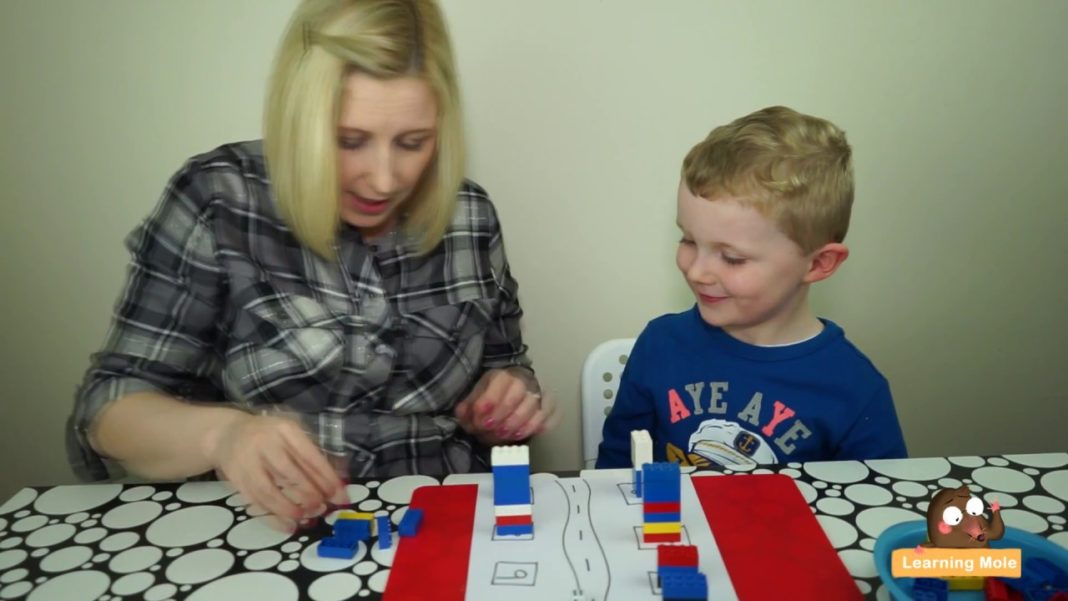 Lego City Counting Maths Game for Kids