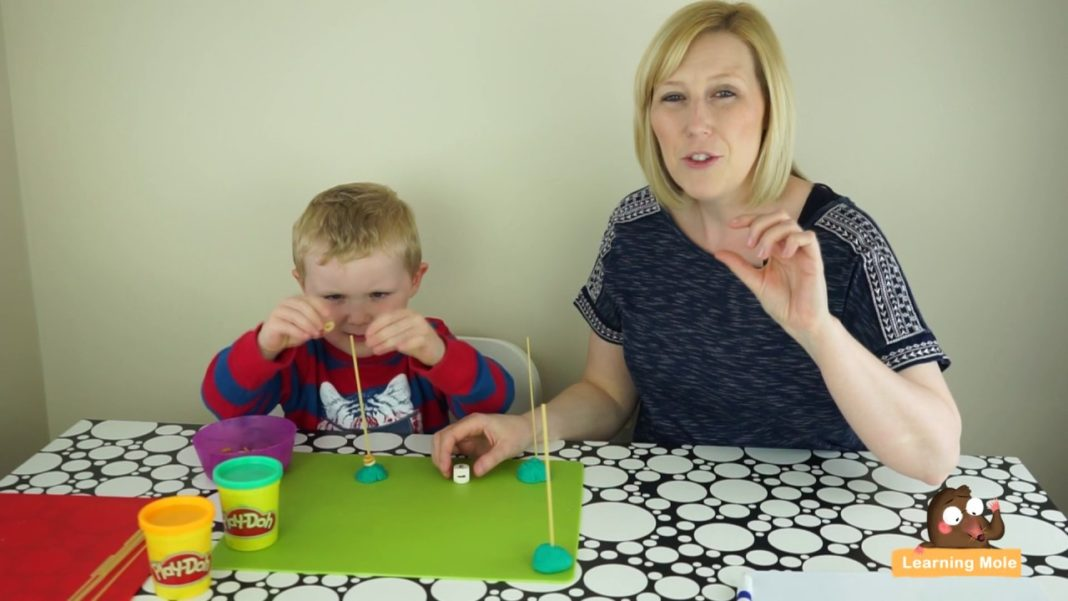 Counting Math Games for Preschoolers