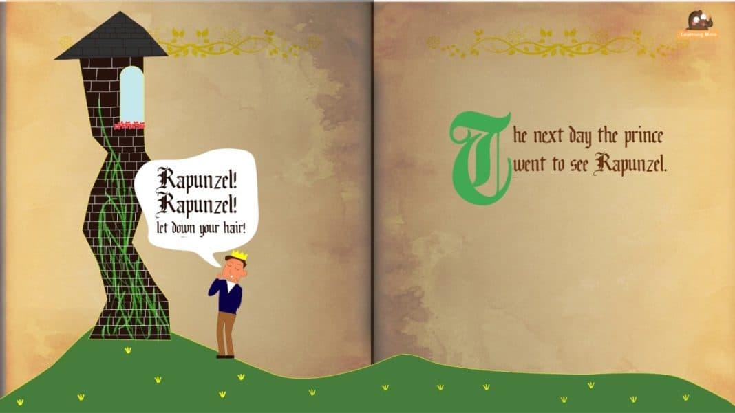 Best English Fairy Tales -Rapunzel